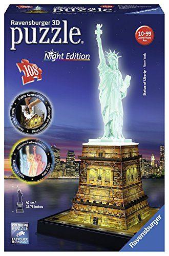 Puzzle 3d Eiffelturm bei Nacht günstig kaufen Ravensburger 12579 Puzzles & Geduldspiele