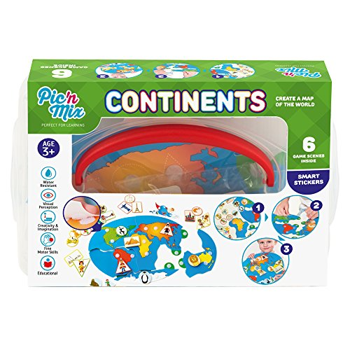picnmix kontinente lernspiele spielzug und spiel für